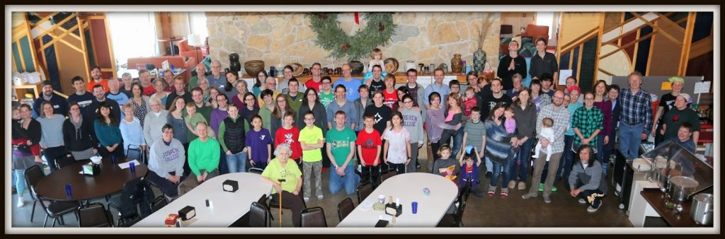 Madison Mennonite At Winter Retreat